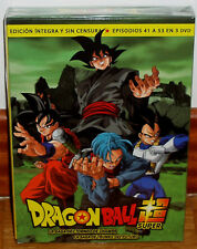 Dragon Ball Super Box 4 Saga Tournament Of Champa-Trunks Future 3 DVD New R2