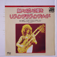 LED ZEPPELIN: Whole Lotta Love / Living Loving Maid (she's Just A Woman)  45 (
