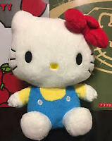 Hello Kitty Plush Fluffy Cat Sanrio Japan Limited Cute Figure Display