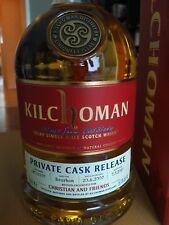 Kilchoman Private Cask Release 700ml (56,4%) 10 Jahre / 2007 / Topp!