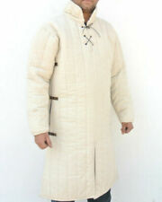 White GAMBESON WITH REMOVABLE SLEEVES CHRISTMAS GIFT