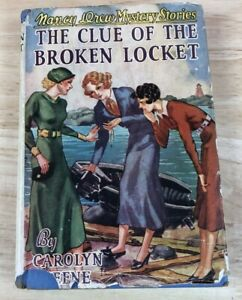 Nancy Drew The Clue Of The Broken Locket Applewood 1st Edition