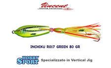 INCHIKU  JIG SALTY RUBBER - R017 GREEN - 80 GR  - VINCENT