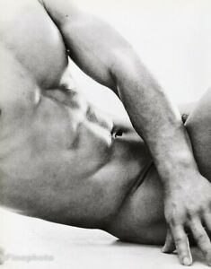 1960s Vintage Asian Male Nude Japan Bodybuilder Abs Muscle TAMOTSU YATO 16x20