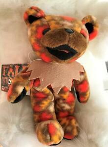 Grateful Dead Bean Bear Collectibles Fall Tour 1999 NWT Plush