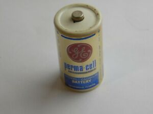 Vintage C cell battery - Rechargeable perma-cell GE general electric