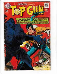 SHOWCASE #72 (GD/VG) TOP GUN! JOHNNY THUNDER! Silver-Age DC 1968