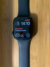 apple watch series 4 44mm stainless steel black