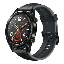 New Huawei Watch GT Black Stainless Steel GT-B19S 128MB Bluetooth Smartwatch