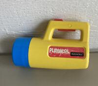 Vintage Playskool Duracell Flashlight Used Working Vintage, 2 colors, working