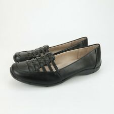 Life Stride Simply Comfort Womens Dresden Black Slip On Flats Shoes Size 7.5 M