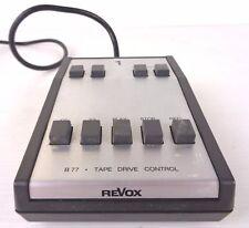 revox b-77 remote control tape drive control