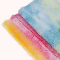 29x21cm A4 Faux Fur Fabric Fluffy Fur Synthetic Leather DIY  Hair bags craft