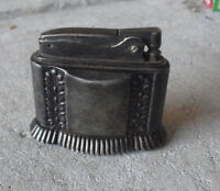 """Vintage 1948 Ronson Diana Silverplate Table  Lighter 2 1/4"""" Tall"""