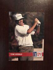 1992 Pro Set Golf #173 - Tom Lehman (RC)