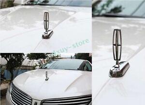 Car Front Hood Bonnet Emblem Ornament Sticker Badge Accessories for Lincoln