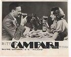 Pubblicità epoca 1941 BITTER CAMPARI LIQUOR old advert werbung publicitè reklame