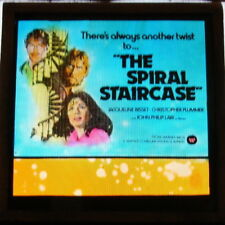 THE SPIRAL STAIRCASE ORIGINAL GLASS SLIDE JACOUELINE BESSET CHRISTOPHER PLUMMER