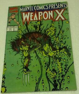 1991 Marvel Issue #73 WEAPON X Comic book NM/VF condition