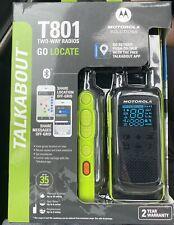 NEW!! MOTOROLA T801 TALKABOUT 2 WAY RADIOS GO LOCATE  Free Shipping!!!!
