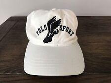 Vintage 90s Polo Sport Ralph Lauren Cap Hat Pwing Stadium Spell Out Logo