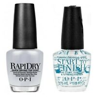 OPI MINI RAPI DRY Top Coat & MINI START 2 FINISH Base Coat **PERFECT GIFT SET**