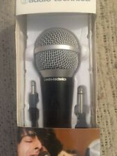 Audio-Technica  ATR-1200 Cardioid Dynamic Vocal/Instrument Microphone New In Box