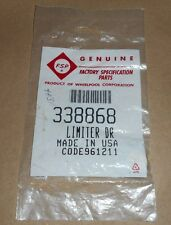 WHIRLPOOL 338868 VENT LIMITER----MADE IN THE USA