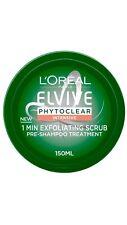 L'Oréal Paris Elvive Phytoclear Intensive 1 Min Exfoliating Scrub Shampoo 150ml