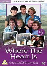 Where The Heart Is: Complete Series 4 - DVD NEW & SEALED (4 Discs)