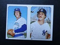1984 Topps Sticker Don Mattingly Tom Tellmann New York Yankees Baseball Card