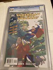 SUPERMAN / SHAZAM: FIRST THUNDER #2 CGC 9.8
