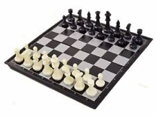 "Extra Grande Plegable Magnético Tablero De Ajedrez 36X36CM Grande 3"" pulgadas piezas de ajedrez"