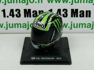 CM27G CASQUE MOTO GP 1/5  : CAL CRUTCHLOW 2013 Arai Monster Energy