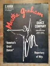 1946-1947 Martha Graham and Dance Company Advertising Program