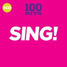 Various Artists : 100 Hits: Sing! CD (2018) ***NEW***