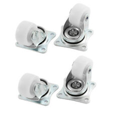 4pcs Trolley Carts 1 Inch Dia 360 Degree Rotation Swivel Caster Wheel DP L3w9