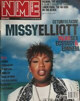 Nme New Musical Express Magazine.31 March 2001.Missy Elliott Cover+Gorillaz Etc.