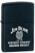 Zippo 28072 jim beam logo black RARE & DISCONTINUED Lighter