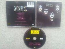 KISS SAME KISS FIRST ALBUM CENSORED LOGO COLLECTORS EDITION CD RARE !