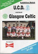 Jul 92 UCD v Celtic