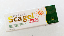 CYBELE Scagel SUN PROTECTION +SPF30 Natural Botanical Extracts Softens Skin 9g