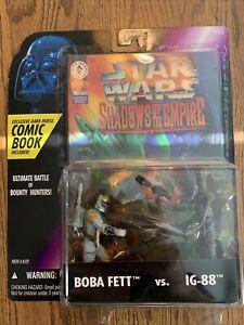 Kenner Star Wars Shadows of the Empire Boba Fett Vs. Ig 88 Action Figure