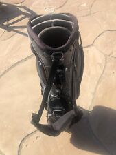 Troon North Callaway Warbird Nylon Stand Bag 7 Way, Raincover Good See Pictures