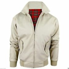 Harrington chaqueta para hombre clásico Scooter Retro 1970's Vintage Bomber Mod Top Coat