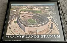Meadowlands Stadium Inaugural Season Photo Framed New York Giants Jets Football