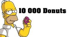 Simpsons Tapped out - 10 000 Donuts