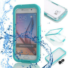 For Samsung Galaxy S6 & S6 Edge Waterproof Shockproof Dirt Proof Case Cover