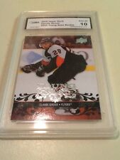 2008-09 Upper Deck Claude Giroux Young Guns Graded 10 Pristine Rookie GMA
