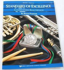 Standard Of Excellence Bassoon Book #2 Instruction Teaching Manual Book #R8